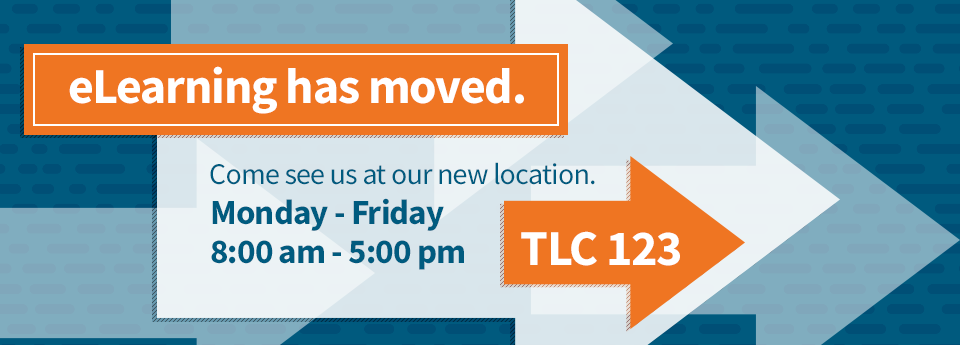 eLearning has moved to TLC 123!